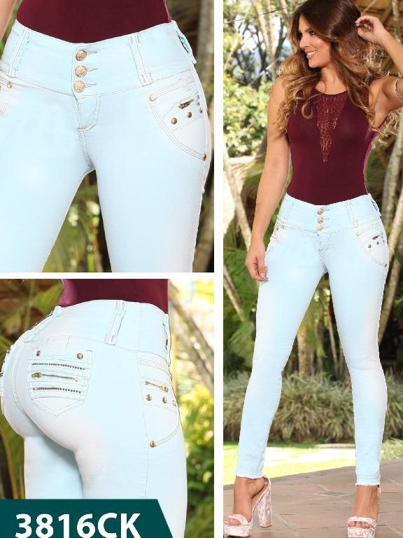 Jeans Levantacola Colombiano Cokette - Ref. 119 -3816