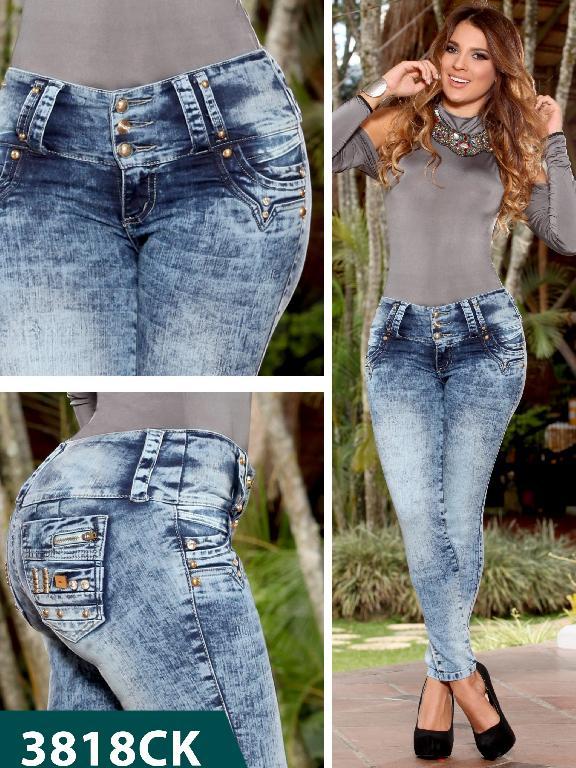 Jeans Levantacola Colombiano Cokette - Ref. 119 -3818