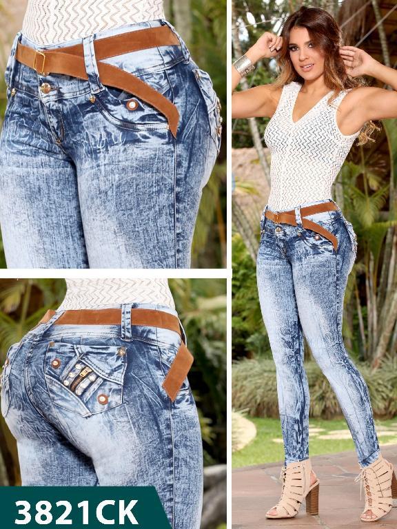 Jeans Levantacola Colombiano Cokette - Ref. 119 -3821