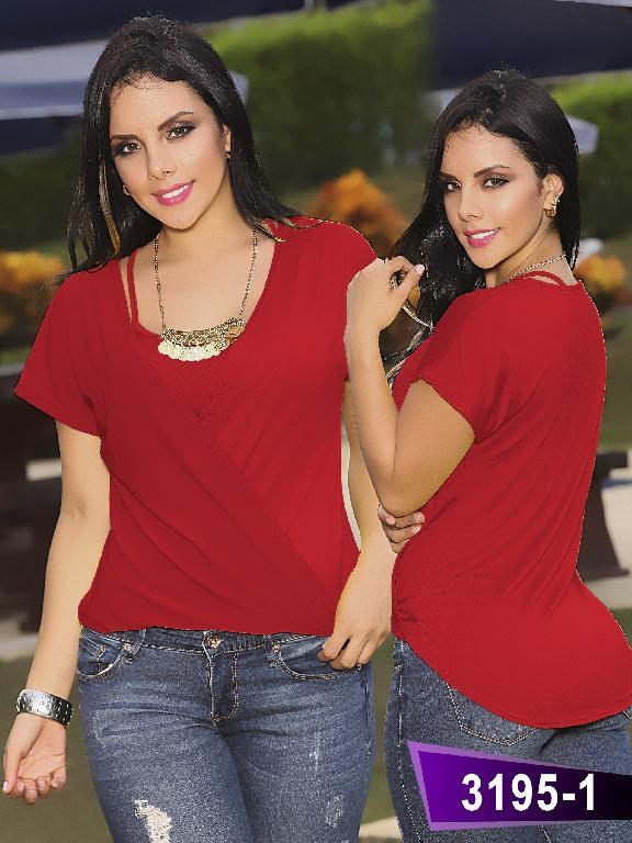 Blusa Moda Thaxx - Ref. 119 -31951