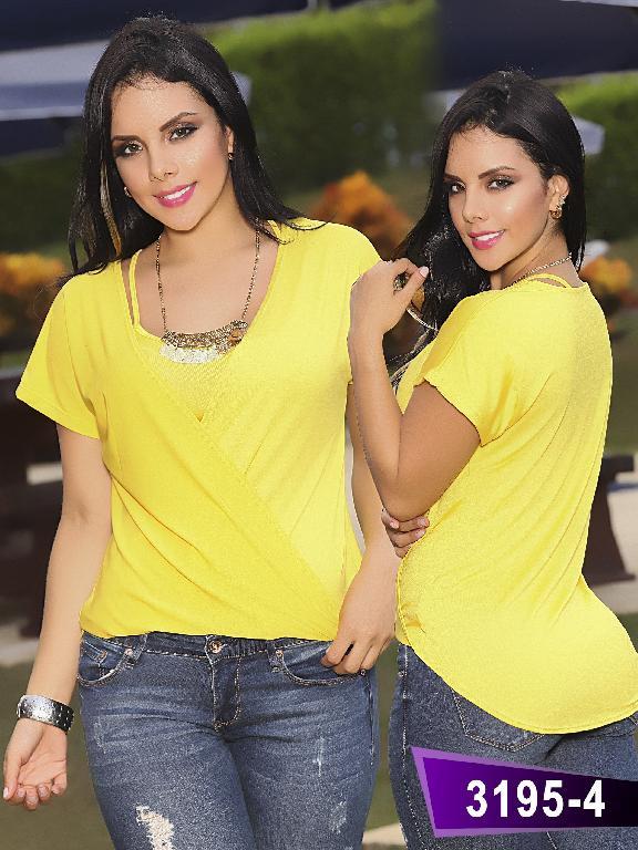 Blusa Moda Thaxx - Ref. 119 -31954