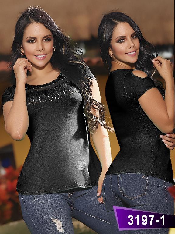 Blusa Moda Thaxx - Ref. 119 -31971