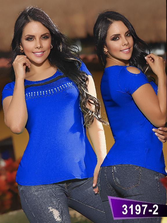 Blusa Moda Thaxx - Ref. 119 -31972