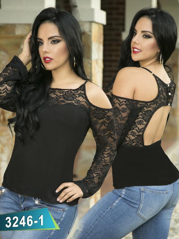 Blusa Moda Thaxx - Ref. 119 -3246-1