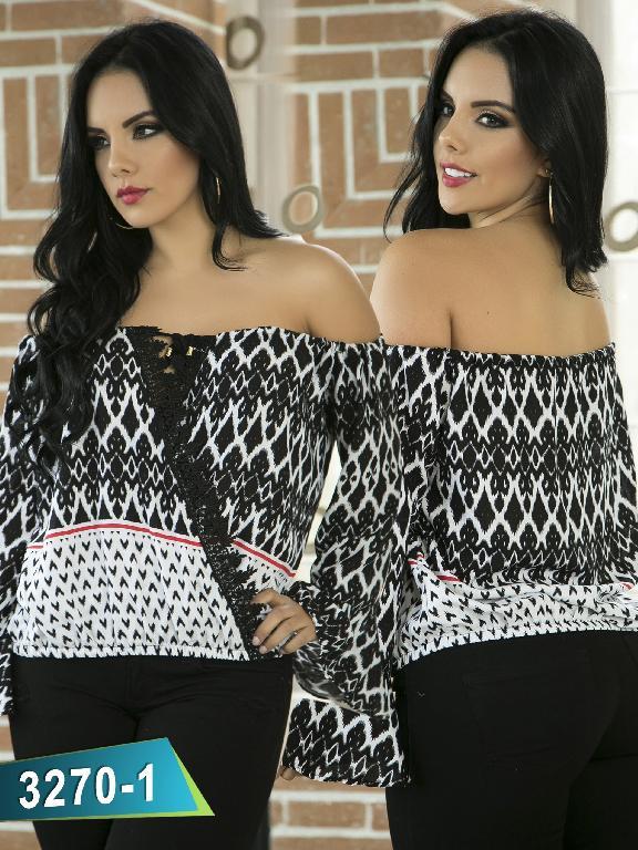 Blusa Moda Thaxx - Ref. 119 -3270-1