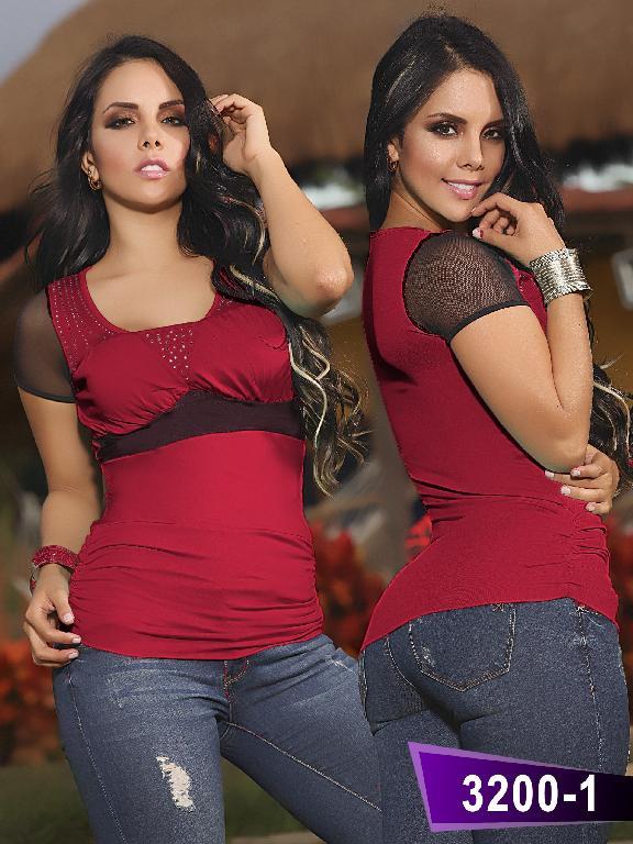 Blusa Moda Thaxx - Ref. 119 -32001