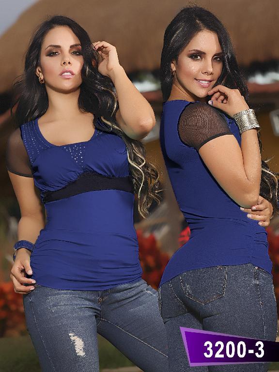 Blusa Moda Thaxx - Ref. 119 -32003