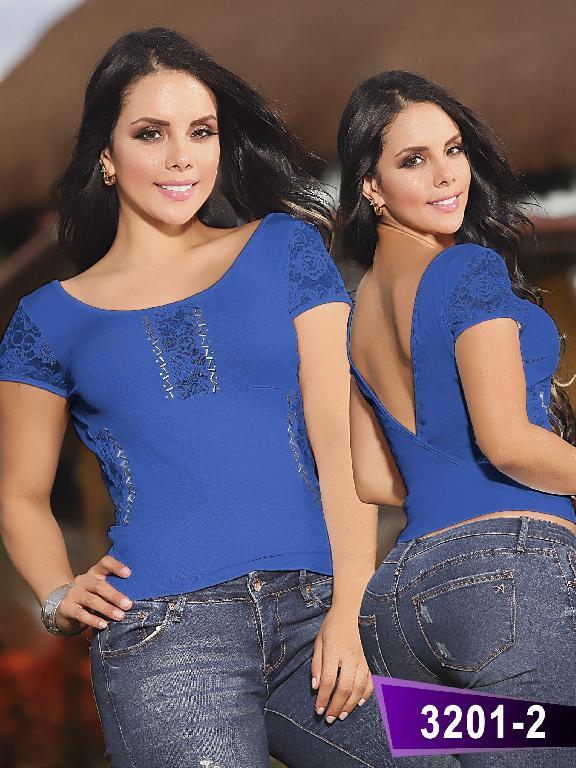 Blusa Moda Thaxx  - Ref. 119 -32012