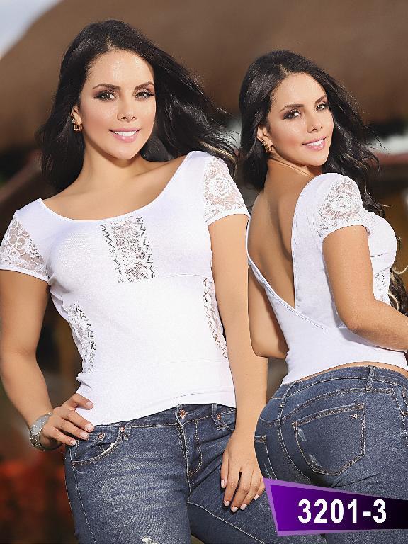 Blusa Moda Thaxx  - Ref. 119 -32013