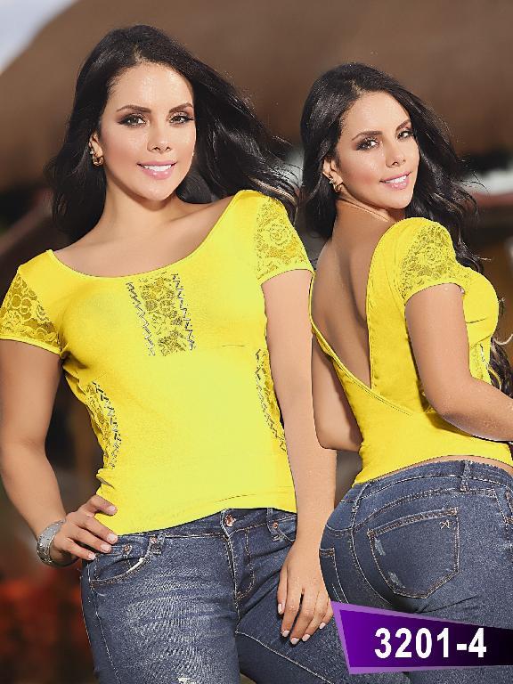 Blusa Moda Thaxx  - Ref. 119 -32014