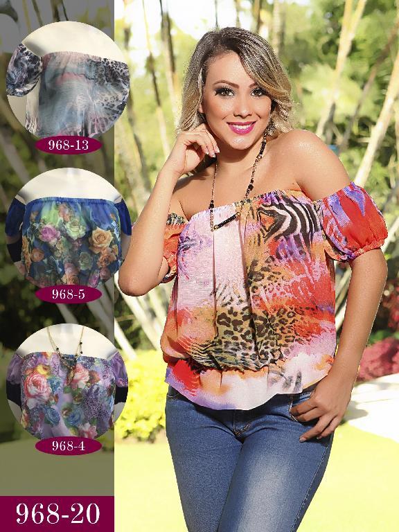Blusa Moda Fuxia Rosado - Ref. 240 -968 Rosado