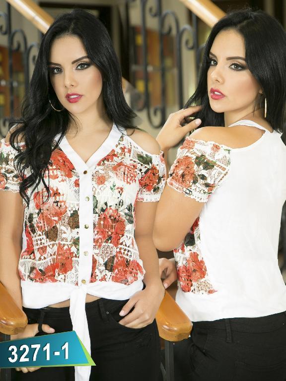 Blusa Moda Thaxx - Ref. 119 -3271-1