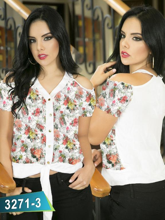 Blusa Moda Thaxx - Ref. 119 -3271-3