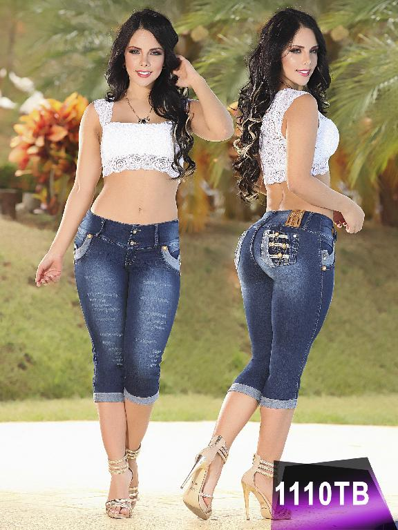 Jeans Levantacola Colombiano Thaxx Boutique  - Ref. 119 -1110
