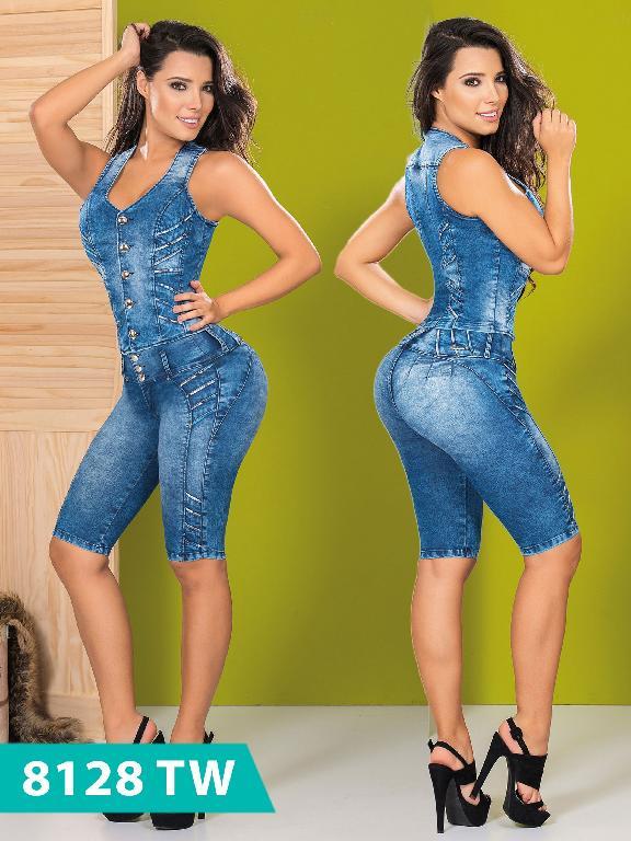 Conjunto Torero Levantacola Colombiano Top Women  - Ref. 123 -8128 TW