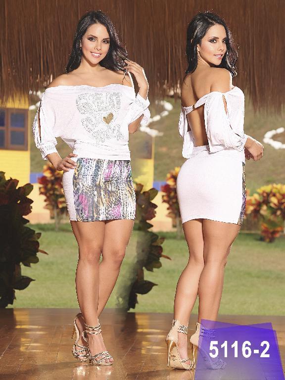 Vestido Colombiano Thaxx - Ref. 119 -5116-2