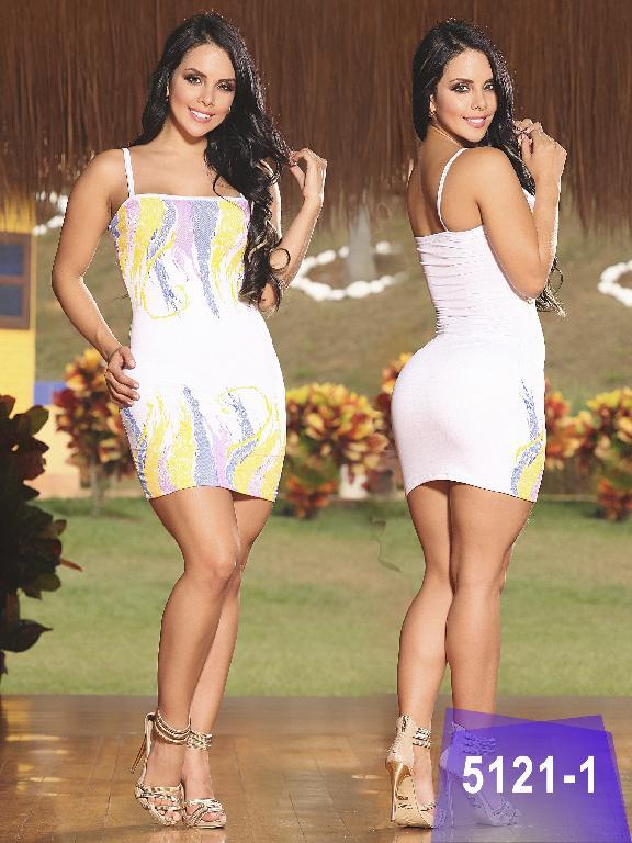 Vestido Colombiano Thaxx - Ref. 119 -5121-1