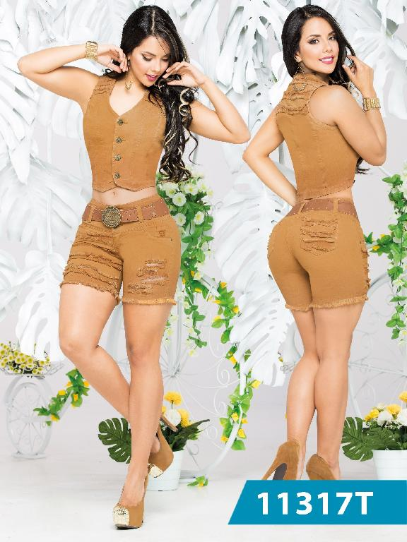Conjunto Short Levantacola Colombiano Tabbachi - Ref. 101 -11317 T