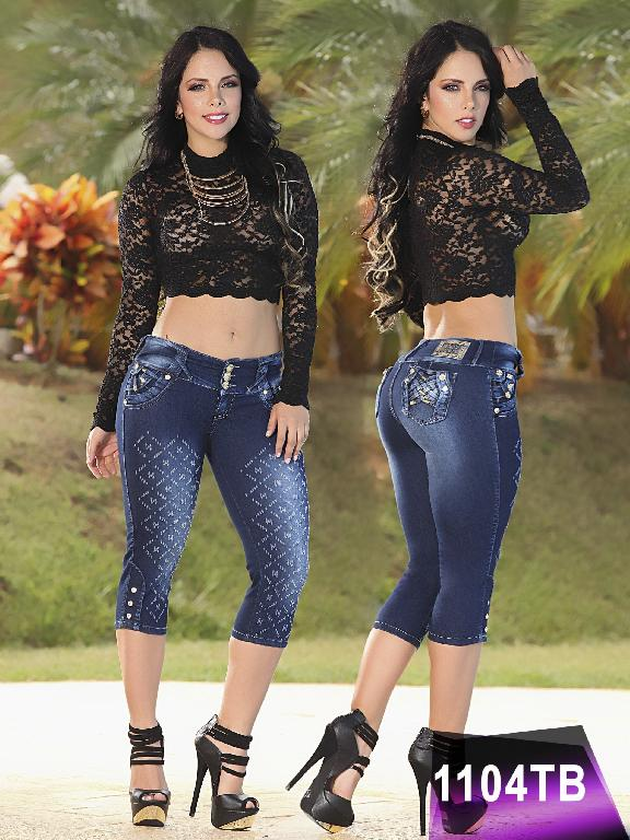 Jeans Levantacola Colombiano Thaxx Boutique  - Ref. 119 -1104