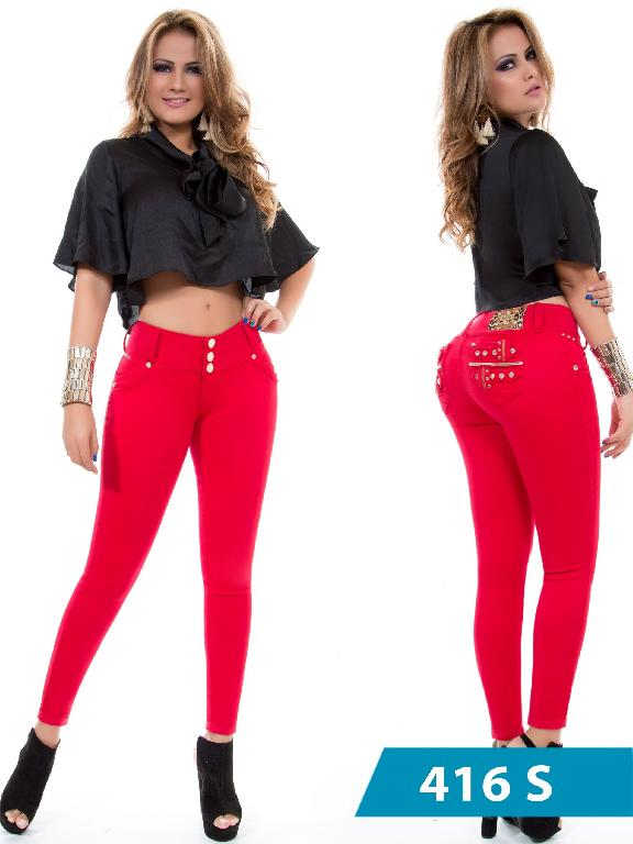Jeans Levantacola Colombiano Duchess - Ref. 237 -416 S