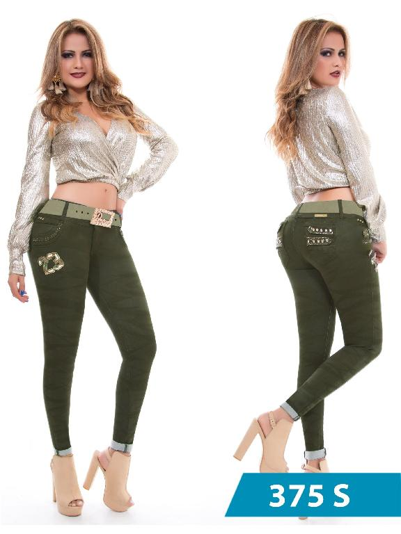 Jeans Levantacola Colombiano Duchess - Ref. 237 -375 S