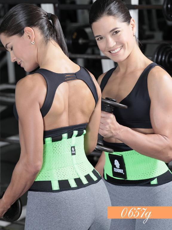 Waist Cincher fitness - Ref. 119 -0657 VERDE