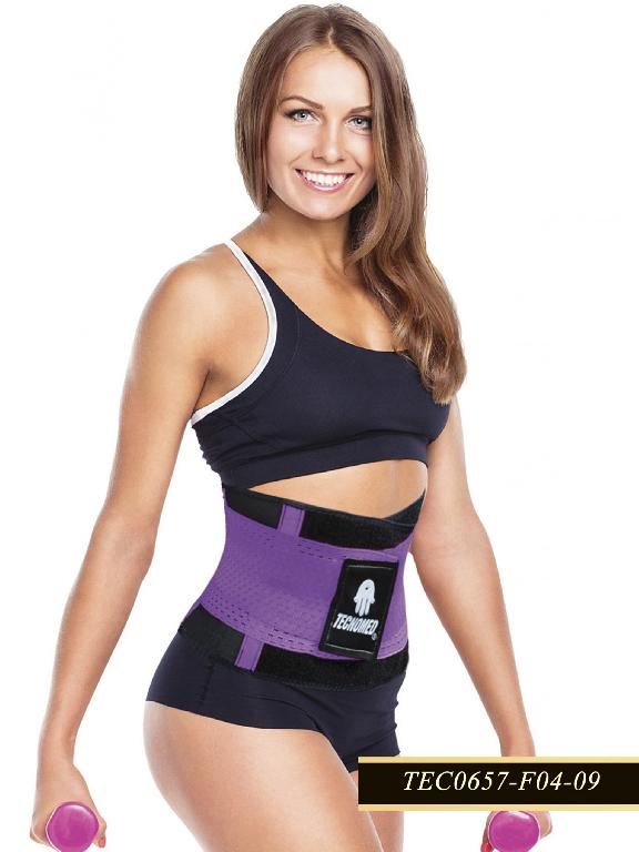 Waist Cincher fitness - Ref. 119 -0657 PURPLE