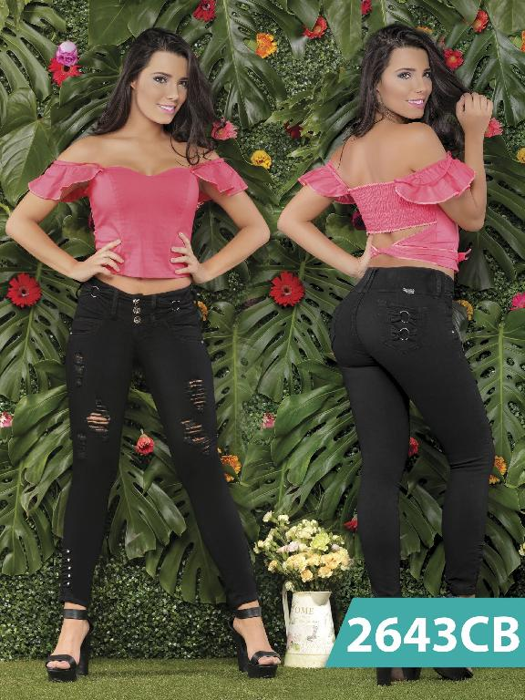 Jeans Levantacola Colombiano Capellini Boutique