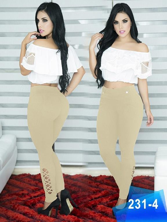 Pantalon Casual Comfort Thaxx - Ref. 119 -231-4 Beige