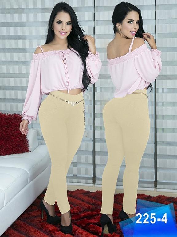 Pantalon Casual Comfort Thaxx - Ref. 119 -225- 4 Beige