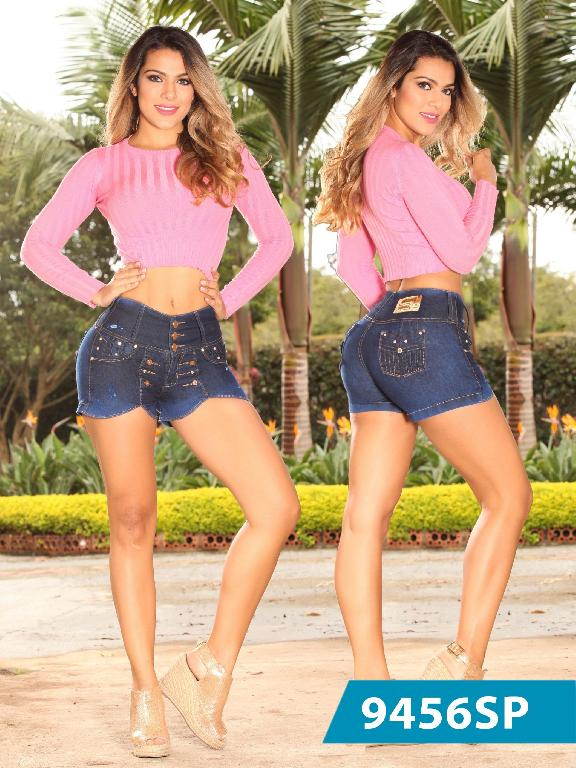 Short Levantacola Colombiano Sweet Pink - Ref. 242 -9456 SP