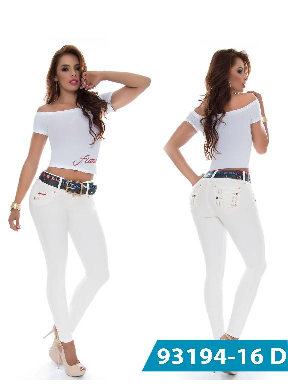 Jeans Levantacola Colombiano DO Jeans - Ref. 248 -93194-16 D Beige