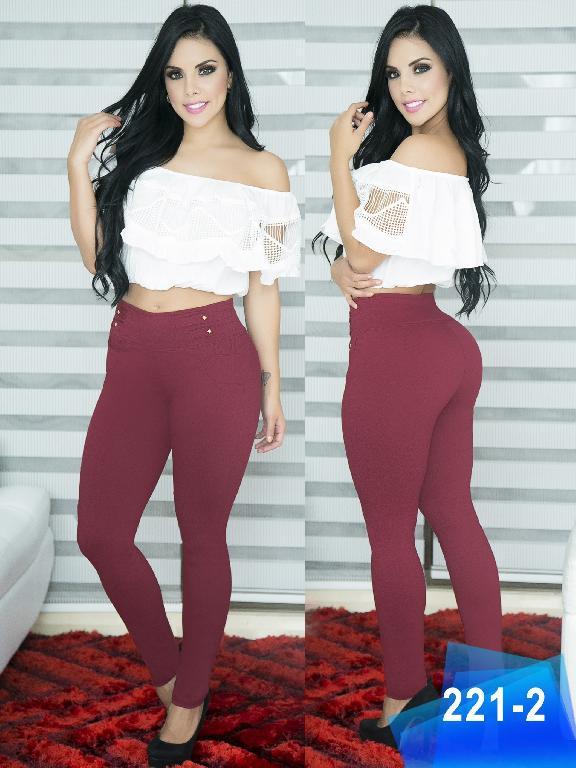 Pantalon Casual Comfort Thaxx - Ref. 119 -221-2 Vinotinto