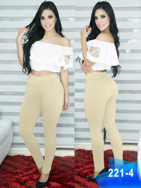 Pantalon Casual Comfort Thaxx - Ref. 119 -221-4 Beige