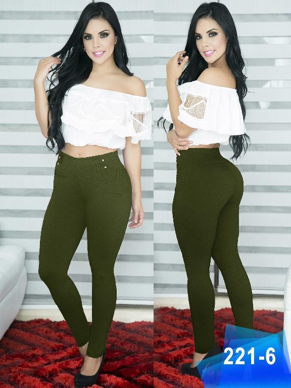 Pantalon Casual Comfort Thaxx - Ref. 119 -221-6 Verde