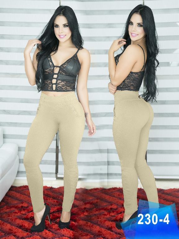 Pantalon Casual Comfort Thaxx - Ref. 119 -230-4 Beige