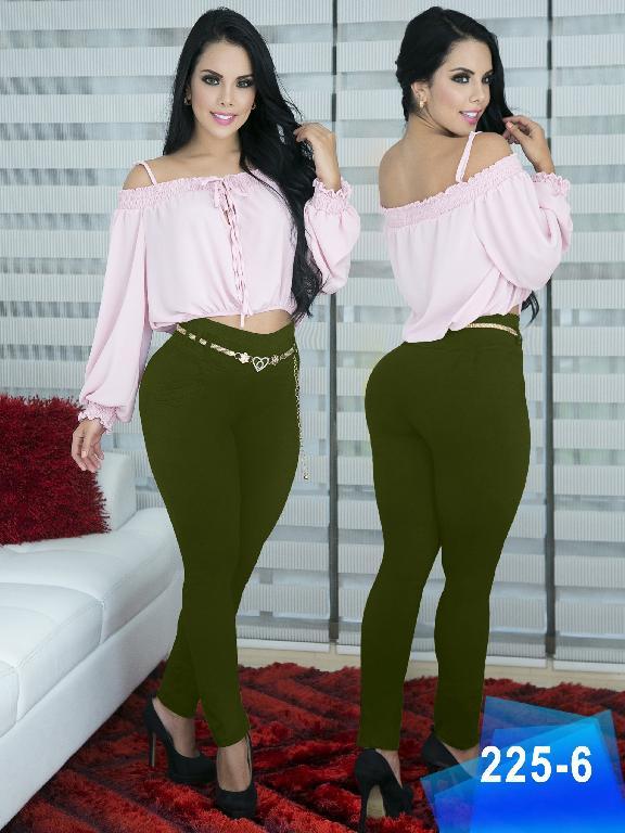 Pantalon Casual Comfort Thaxx - Ref. 119 -225-6 Verde