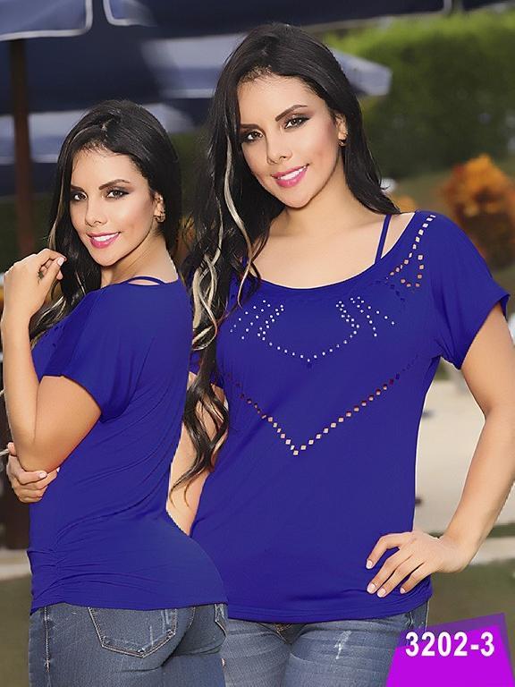 Blusa Moda Thaxx - Ref. 119 -32023