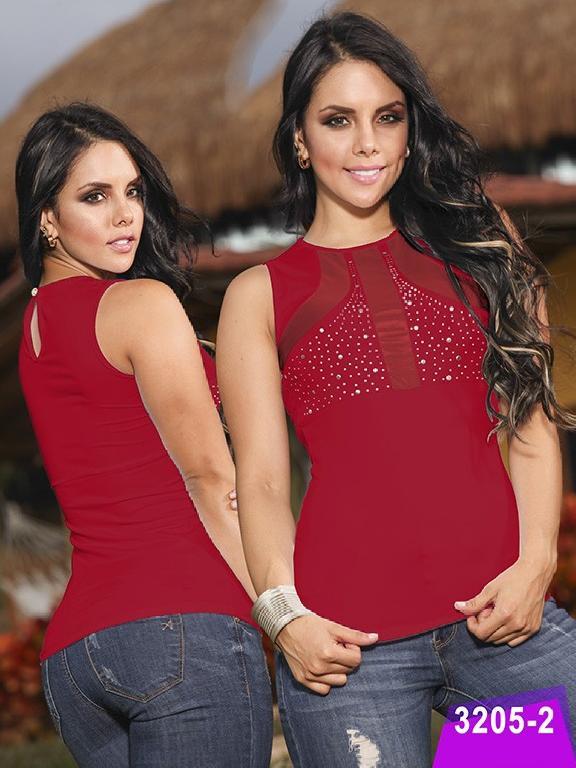 Blusa Moda Thaxx - Ref. 119 -32052