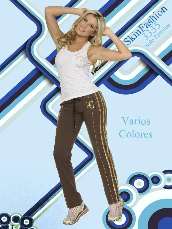 Pantalon Deportivo Skin Fashion - Ref. 118 -3335