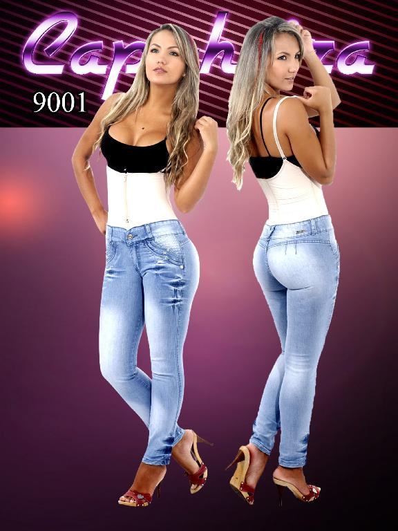 WOMEN JEANS CAPOHEIRA  - Ref. 102 -9001