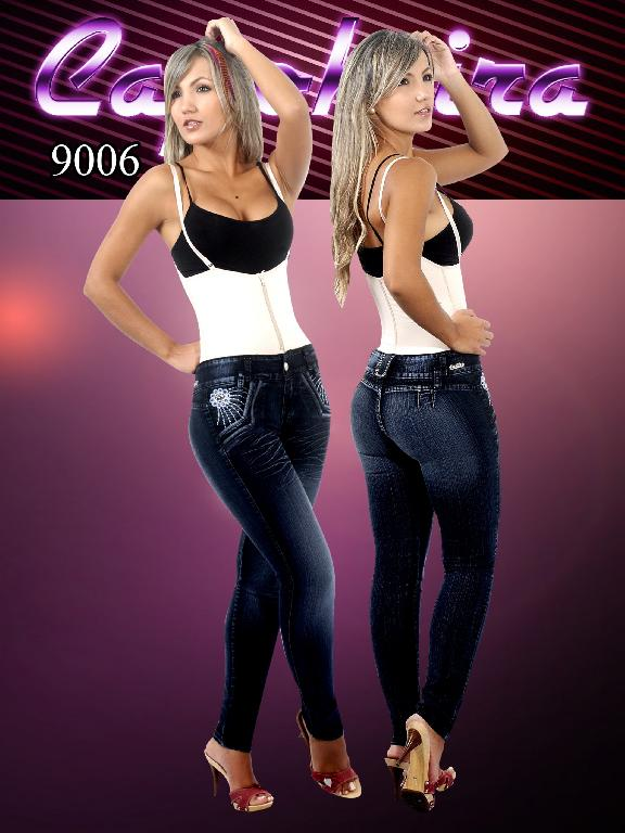 WOMEN JEANS CAPOHEIRA - Ref. 102 -9006
