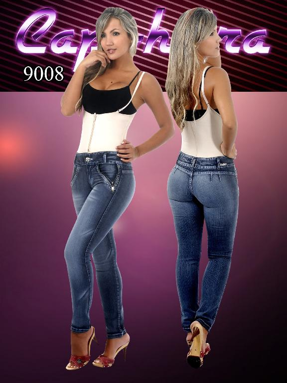 WOMEN JEANS CAPOHEIRA - Ref. 102 -9008