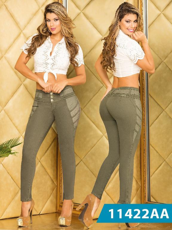 Jeans Levantacola Colombiano Studio AA - Ref. 235 -11422 AA