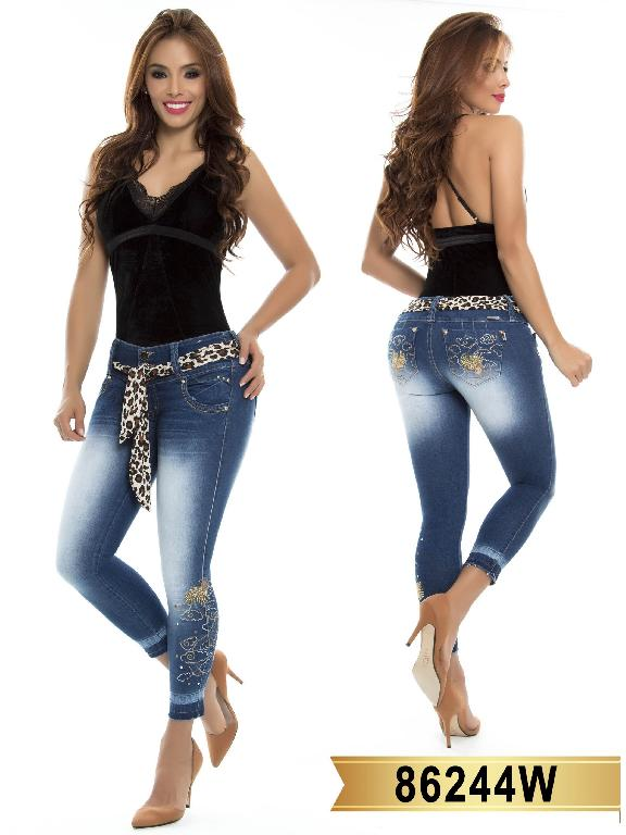 Jeans Levantacola Colombiano Wow - Ref. 243 -86244 W
