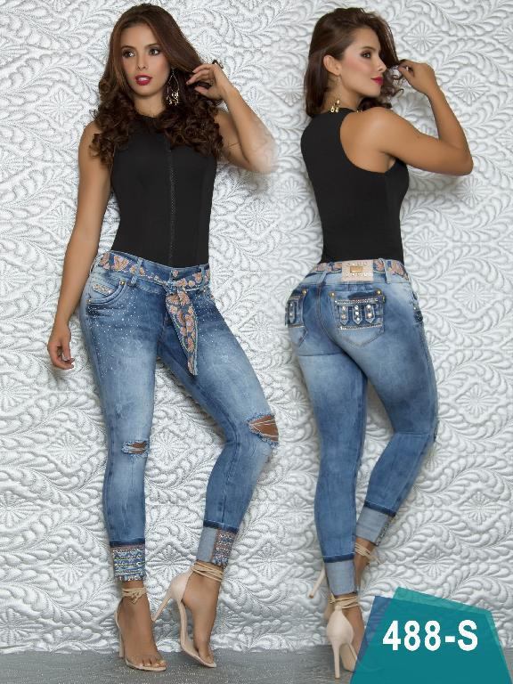 Jeans LEvantacola Colombiano Duches
