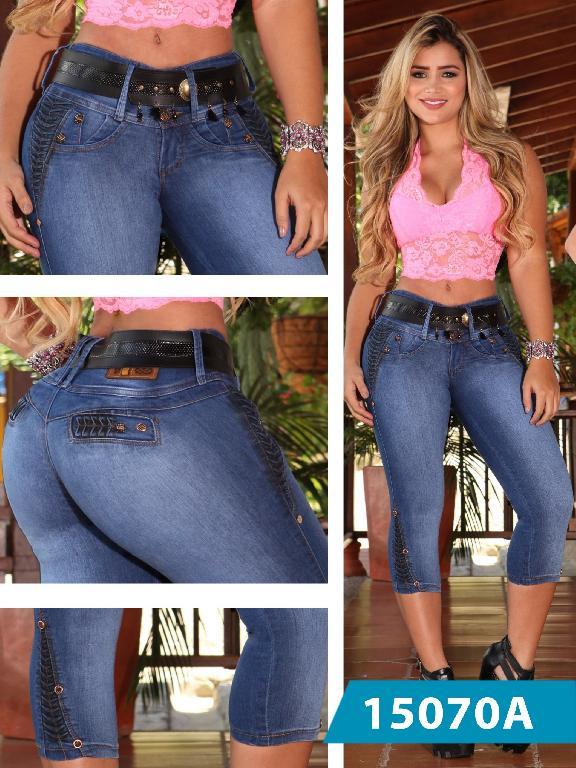 Capri Jeans Levantacola Colombiano Ambar