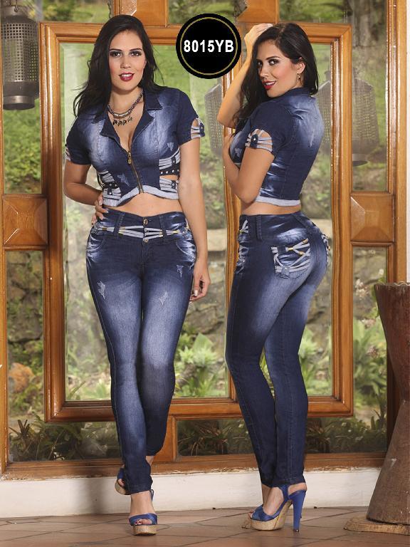 Conjunto Levantacola Colombiano Yes Brazil - Ref. 113 -8015