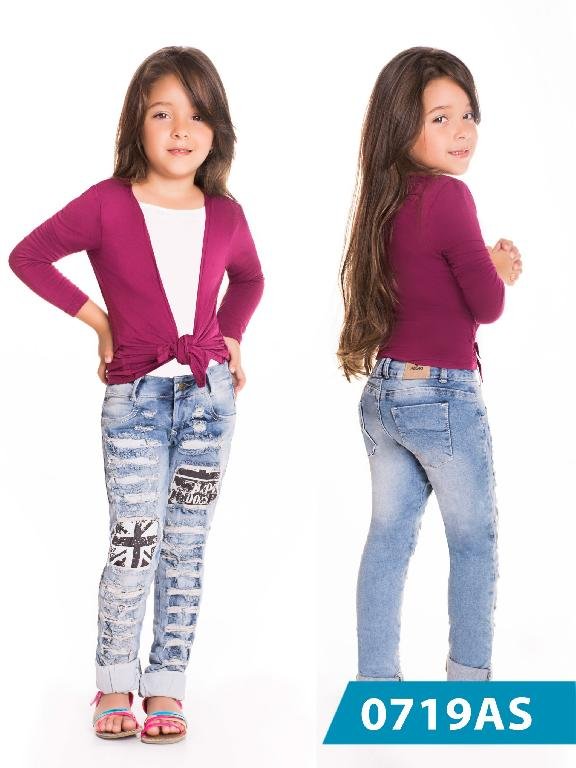 Jeans Infantil Asi Sea - Ref. 124 -0719 AS