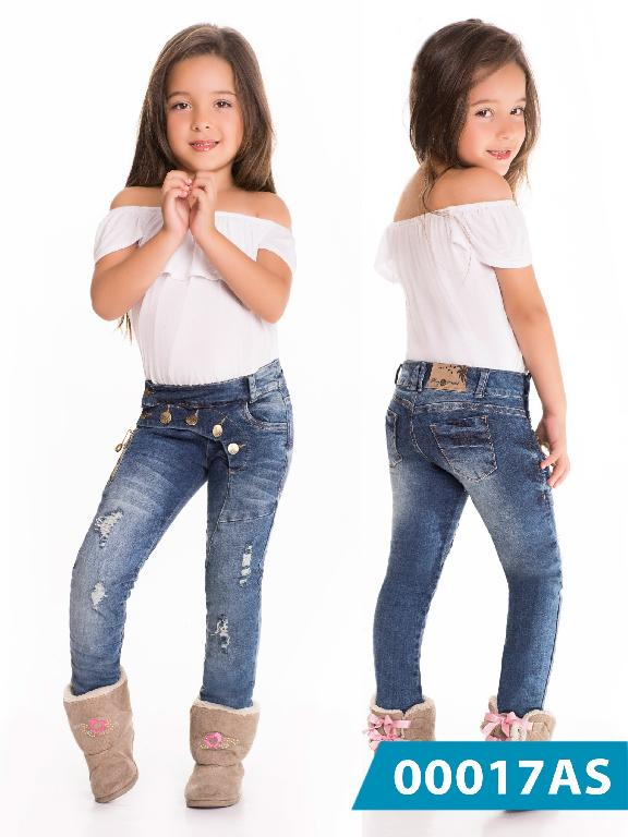 Jeans Infantil Asi Sea - Ref. 124 -0017 AS